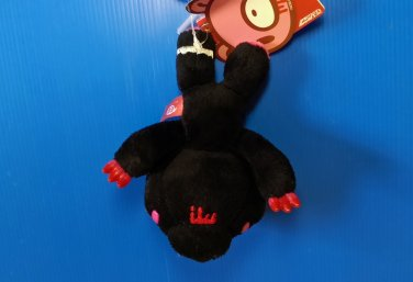 Brand New Authentic CHAX Mori Chack 12cm Black Gloomy Bear in leg trap plush soft toy doll