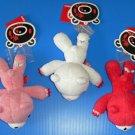 CHOOSE 1 Brand New Authentic CHAX Mori Chack 14cm Gloomy Bear in leg trap plush soft toy doll