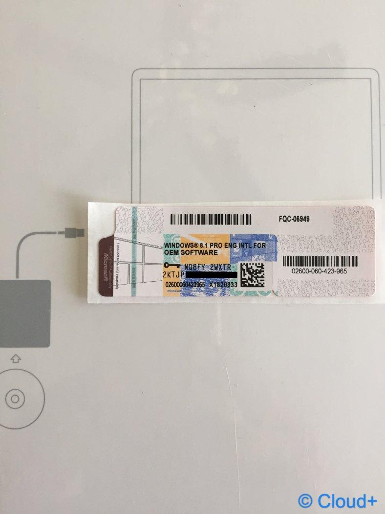 windows 8 1 professional oem oa license sticker. Black Bedroom Furniture Sets. Home Design Ideas