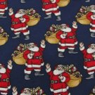 #1A NEW HALLMARK Christmas Santa Holiday TOYS NAVY RED WHITE  Silk Necktie Tie