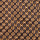 #1A FUMAGALLI'S WOVEN OVALS BROWN BLACK SILK MEN NECK TIE Silk Ties