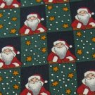 #1A New Christmas Santa Snow Holiday STAR SQUARE NAVY GREEN RED  Necktie Tie