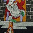 #1A New EVERYDAY Christmas Santa Holiday Ornament CHIMNEY NAVY RED  Necktie Tie