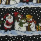 #1A NEW Christmas Santa Snow Man Holiday GIFT BLACK WHITE GREEN RED Necktie Tie