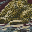#1A LOST KINGDOM USA CHEETAH MAROON BROWN BLACK TAN  Silk Men Tie Necktie