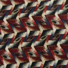 #1A New 7th AVE BEIGE BLACK MAROON ZIG ZAG MEN NECK TIE
