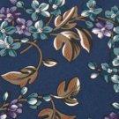 LORD & TAYLORS NavyBlue PURPLE FLORAL FLOWERS NECK TIE Men Designer Tie EUC