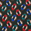 GAP LIFESAVERS GREEN RED BLUE SILK MEN NECK TIE Men Designer Tie EUC