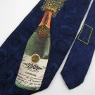 Robert Talbott Champagne Botle Celebration Limited Neck Tie Men Designer Tie EUC