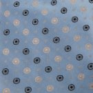 #1A New CALVIN KLEIN JACQUARD CIRCLES BLUE Men Neck Tie