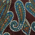 #1A NWT WESTBURY PAISLEYS MAROON BLUE SILK MEN NECK TIE Necktie