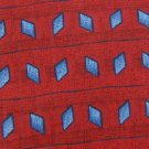 #1A New Tie PRIMA ITALY RED BLUE BLACK SILK  MEN NECKTIE Cravat Cravatta