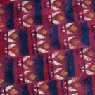 #1A GEORGE MACHADO MAROON NavyBlue ART DECO MEN NECK TIE