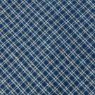 #1A RUFF HEWN CHECKERED BLUE BEIGE MEN NECK TIE