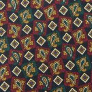 ROBERT TALBOTT GREEN MAROON TAN PAISLEY MEN NECK TIE Men Designer Tie EUC