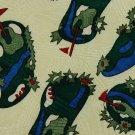 SKY BEND COUNTRY CLUB GOLF YELLOW GREEN NECK TIE Men Designer Tie EUC