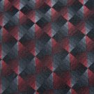 #1A New VAN HEUSEN JACQAURD BLACK RED GREY MEN NECK TIE