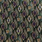 #1A New VAN HEUSEN DIAMONDS GREEN RED BLUE MEN NECK TIE