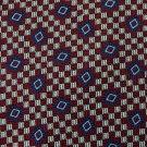 GEOFFREY BEENE WOVEN CHECKERED RED BLUE MEN NECK TIE Men Designer Tie EUC