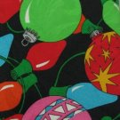 #1A New ADDICTION Christmas Holiday Ornament LIGHTS BLACK RED GREEN Necktie Tie