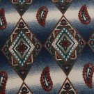 #1A ROBERT STOCK DIAMONDS BLUE RED BEIGE SILK Men Neck Tie f