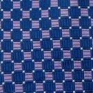 #1A USA SELLER CHAPS DarkBlue PINK CHECKER WOVEN SILK MEN TIE Necktie