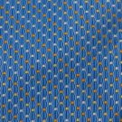 #1A New RBM NECKTIE SkyBlue ORANGE YELLOW WHITE WOVEN MEN NECK TIE