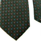 #1A McGREGOR WOVEN BLACK PINK BLUE POLYESTER/SILK NECK TIE Mens Lot # Q