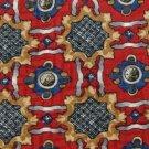 #1A USA Seller ?? BILL BLASS CHECKERED RED BROWN BLUE SILK TIE NECKTIE