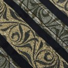 New SALEM STRIPE BLACK YELLOW OLIVE SILK MEN NECK TIE Men Designer Tie
