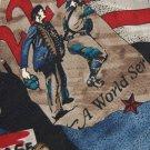 MARK ALEXANDER AMERICAN LEAGUE BLUE RED Men Neck Tie Men Designer Tie EUC