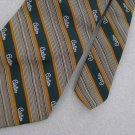 Vintage Rare Pierre Cardin Logo GreenTexture 70s 60s 1970 Mens Neck Tie  #EV
