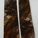 "#1A Vintage 1 3/4"" W Dolores Mallen Abstract Flat End Neck Tie"