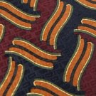 #1A PORTICO LINES MAROON NAVY BROWN OLIVE SILK MEN NECK TIE Lot#4F