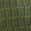 #1A New J FERRAR OLIVE GREEN YELLOW LINES SILK MEN NECK TIE Cravat Krawatte