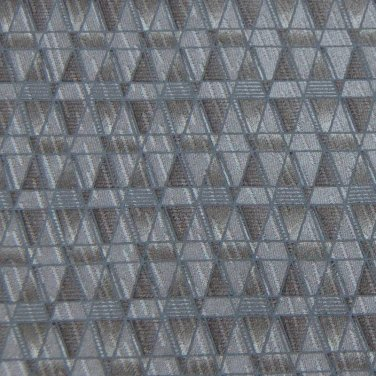 CAMBRIDGE CLASSICS GRAY TAN DIAMOND PATTERN NECK TIE Men Designer Tie EUC
