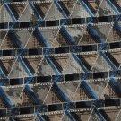 New STAFFORD BROWN WHITE BLUE GREY SILK MEN NECK TIE Men Designer Tie EUC