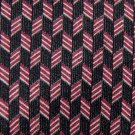 "59"" Long GUESS BLACK MAROON BEIGE SILK TIE NECK TIE Men Designer Tie EUC"