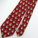 New Christmas Santa Snow Holiday Reindeer Tree Ornament Boys Neck Tie 7631
