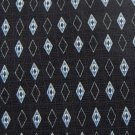 BILL BLASS DIAMONDS BLACK GREY BLUE SILK Men Neck Tie Men Designer Tie EUC