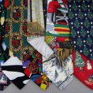 5 Christmas Xmas Holiday Silk Men's Ties Necktie Neck Tie Lot #P23R Excellent