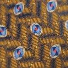 MINT ROBERT TALBOTT Best of Class ORANGE NavyBlue Men Men Designer Tie EUC
