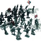 Bag of Civil War Toy Soldiers