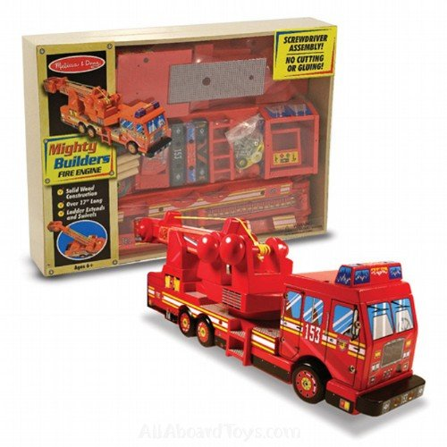 Mighty Builders Fire Truck by Melissa & Doug
