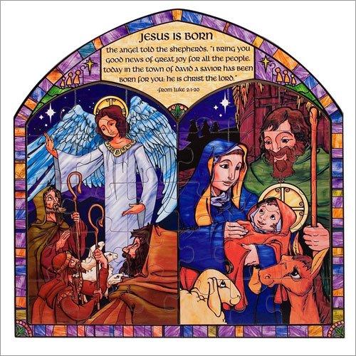 Melissa and Doug - Jesus is Born Religious Puzzle