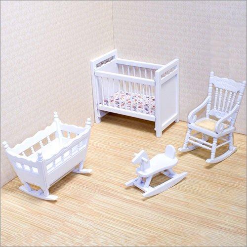 Melissa and Doug - Dollhouse Nursery Furniture