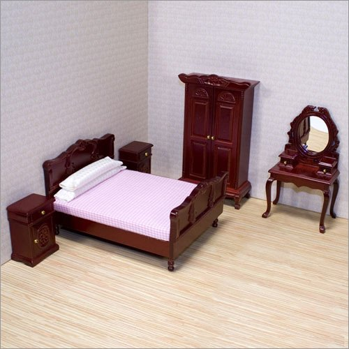 Melissa and Doug - Dollhouse Bedroom Furniture