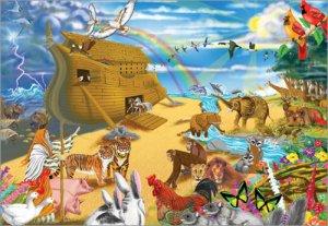 Melissa and Doug - Noah's Ark Cardboard Jigsaw Puzzle