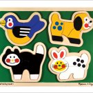 Melissa and Doug - Pets Shaped Puzzle
