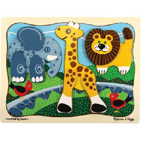 Melissa and Doug -Zoo Crew Layered Puzzle
